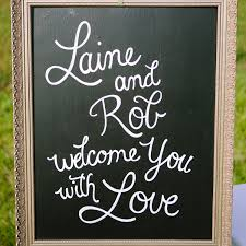decor signs 45 creative wedding signs martha stewart weddings