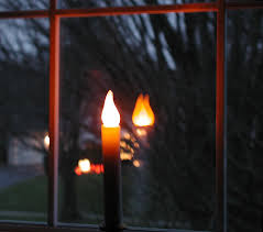 candles in the window wind