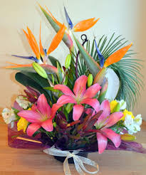 Tropical Design Irvine Florist Flower Delivery By Flower Synergy