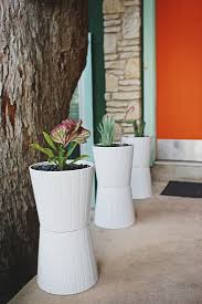 ikea hack diy midcentury planters on a budget the organized home