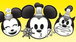 steamboat willie told emoji disney mickey mouse