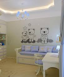 wall decals for baby nursery nursery wall decorations vinyl wall decal sticker teddy bears in the sky os dc348