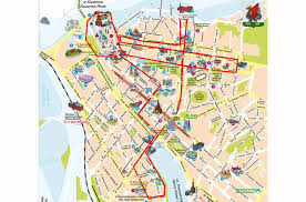 map of kazan hop on hop tour kazan city sightseeing