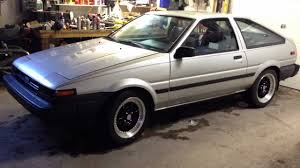 86 Corolla Interior Toyota Ae86 Corolla Hatchback Youtube