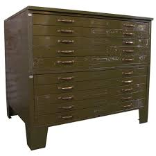 vintage metal file cabinet flat file cabinet vintage industrial metal flat file cabinet at
