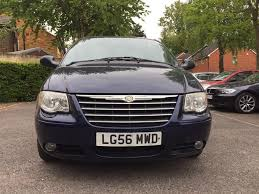 chrysler grand voyager 2 8 crd limited fsh 6 months warranty