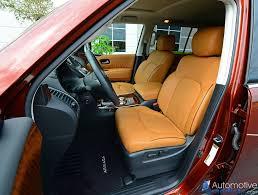 2017 nissan armada platinum interior 2017 nissan armada platinum awd review u0026 test drive