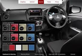 Mitsubishi I Interior Mitsubishi I Miev Goes Funky With Online Personalization Program