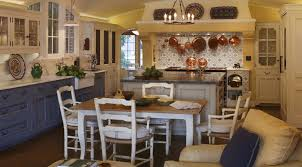 Blue Shabby Chic Kitchen by Kitchen Design Ideas Classic Traditional Open French Country