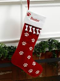 personalized pet dog christmas stocking