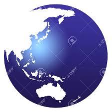 World Globe Map World Map Blue Globe Also Australia Globe Map Evenakliyat Biz