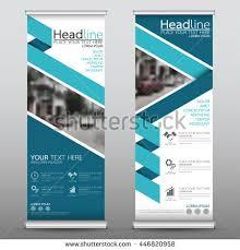 layout banner design blue roll business brochure flyer banner stock vector 2018