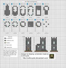 village castle minecraft blueprints houses pinterest
