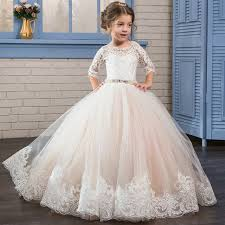 communion dress 2017 kids prom graduation holy communion dresses half