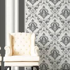 white glitter wallpaper ebay vymura synergy ebony black white silver glitter wallpaper stripe