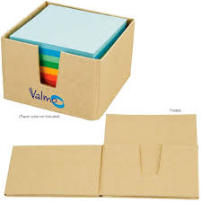 Promotional Desk Accessories Promotional Cardboard Memo Holder With Your Custom Logo Adleap