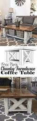 Farm Table Woodworking Plans by How To Build A Diy Coffee Table Chunky Farmhouse Woodworking