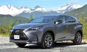 lexus suv malaysia lexus nx suv open for booking in malaysia from rm300k est