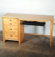 Stanley Furniture Desk Stanley Furniture Maple Computer Desk Ebth
