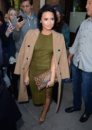 demi lovato rocks 2 chic street styles in new york city twist