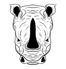 rhino vector images over 2 100