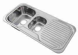 kitchen sink drainer kitchen sink drainer no overflow 1 5 bowl stainless steel inset