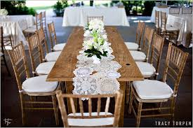 wedding tables lace doily wedding table ruffled