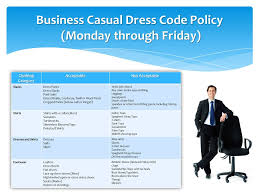 what is business casual the objective of a business casual