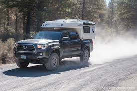 nissan frontier with camper feature earthcruiser gzl truck camper recoil offgrid
