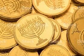 hanukkah chocolate coins hanukkah gelt chocolate coins stock photo more pictures of