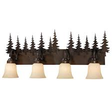 Bathroom Vanity Lighting Rustic Vanity Lighting U0026 Cabin Bathroom Lights