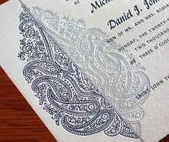 mehndi invitation mehendi wedding celebration invitations letterpress wedding