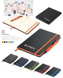 notebook and pen gift set branded pen and notebook corporate