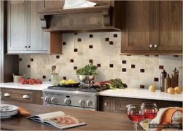 Travertine Tile Dark Brown Glass  X  Travertine Mosaic - Travertine mosaic tile backsplash