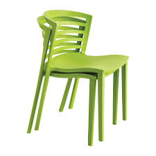 Outdoor Plastic Stackable Chairs Entourage Stack Chair Gray Qty 4 Safco Products