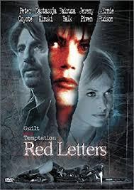 amazon com red letters peter coyote nastassja kinski fairuza