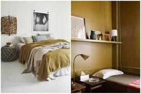 deco chambre jaune la couleur jaune moutarde pour un intérieur chaleureux