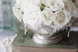 winter white roses for you