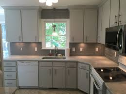 gray owl painted kitchen cabinets gray owl update 2 cabinet