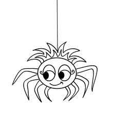 Spider Color Pages Spider Coloring Pages 14 Printables To Color Online For Halloween by Spider Color Pages