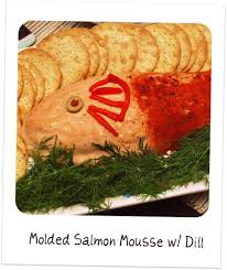 a 1960s cocktail party holiday cocktails salmon and food