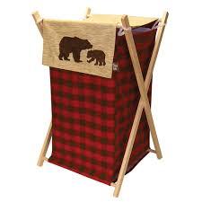 Sorting Laundry Hamper by Rustic Moose U0026 Bear Bathroom Accessories