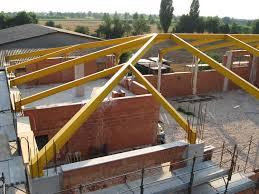 tetto padiglione capannoni pensiline scale in metallo per agricoltura industria e