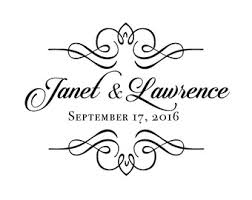 wedding gobo templates wedding logo etsy