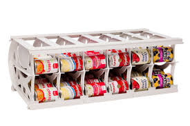 Cream Spice Rack Cansolidator Series