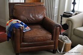 how to fix a sagging sofa sagging leather chair cushion fix like mother like daughter