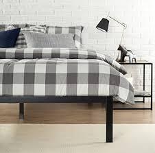 No Box Spring Bed Frame Zinus Modern Studio 14 Inch Platform 1500 Metal Bed Frame
