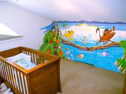 lion king mural sacredart murals disney s lion king wall mural handpainted in attic room nursery hiding a cupboard door beautifully