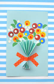 day card floral handmade s day card diy candy