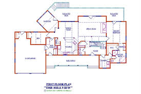 2500 sq ft floor plans hillview log floor plan log cabin 3167 sq ft expedition log